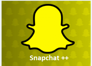 snapchat++ is modified version of snapchat
